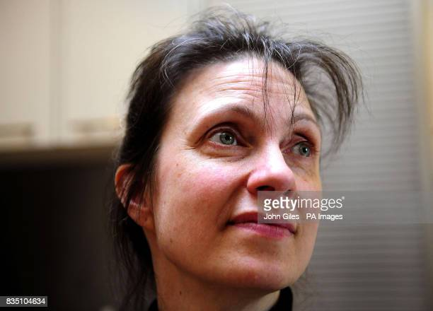 Debbie Purdy at her home in Bradford where she is urging Parliament to end the 'cruel' uncertainty over the law on assisted suicide after she lost...