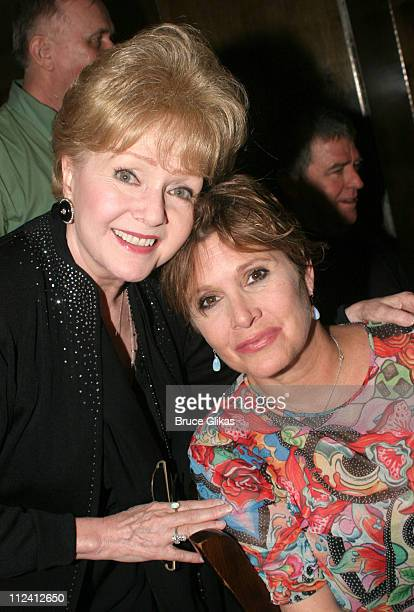 Debbie Reynolds and daughter Carrie Fisher *Exclusive Coverage*