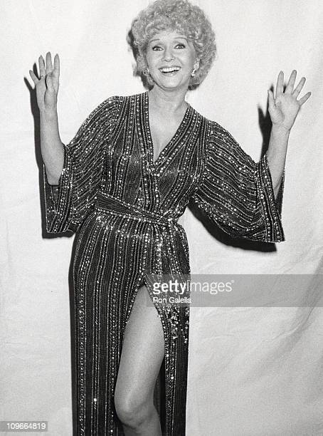 Debbie Reynolds during Debbie Reynolds sighting at the Palace Theatre during The American Movie Awards March 15 1982 at Palace Theatre in Hollywood...