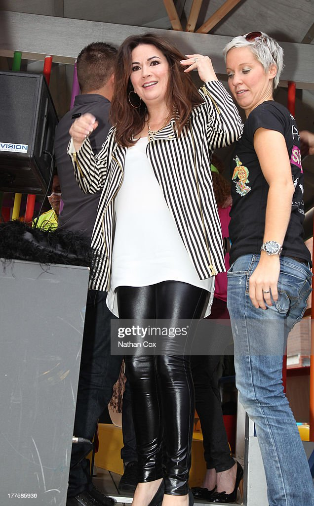 Debbie Rush attends Manchester Pride on August 24, 2013 in Manchester, England.