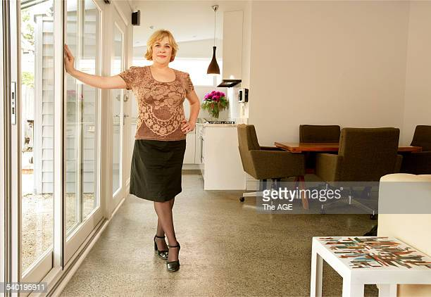 Debbie Watters in her renovated Clifton Hill property 20 March 2007 THE AGE DOMAIN Picture by SIMON SCHLUTER