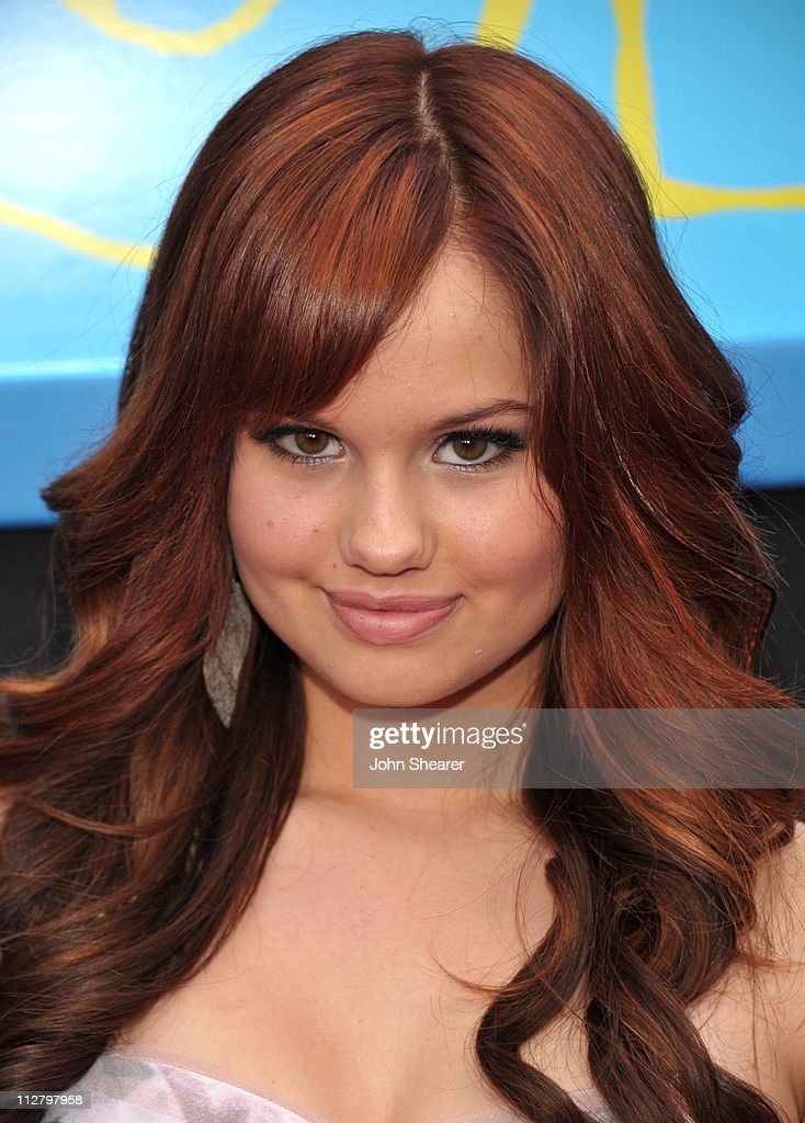 Debby Ryan arrives to the 'Prom' World Premiere at the El Capitan Theatre on April 21, 2011 in Hollywood, California.