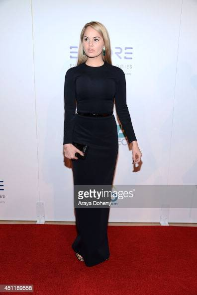 Debby Ryan attends the 5th Annual Thirst Gala hosted by Jennifer Garner in partnership with Skyo and Relativity's 'Earth To Echo' at The Beverly...