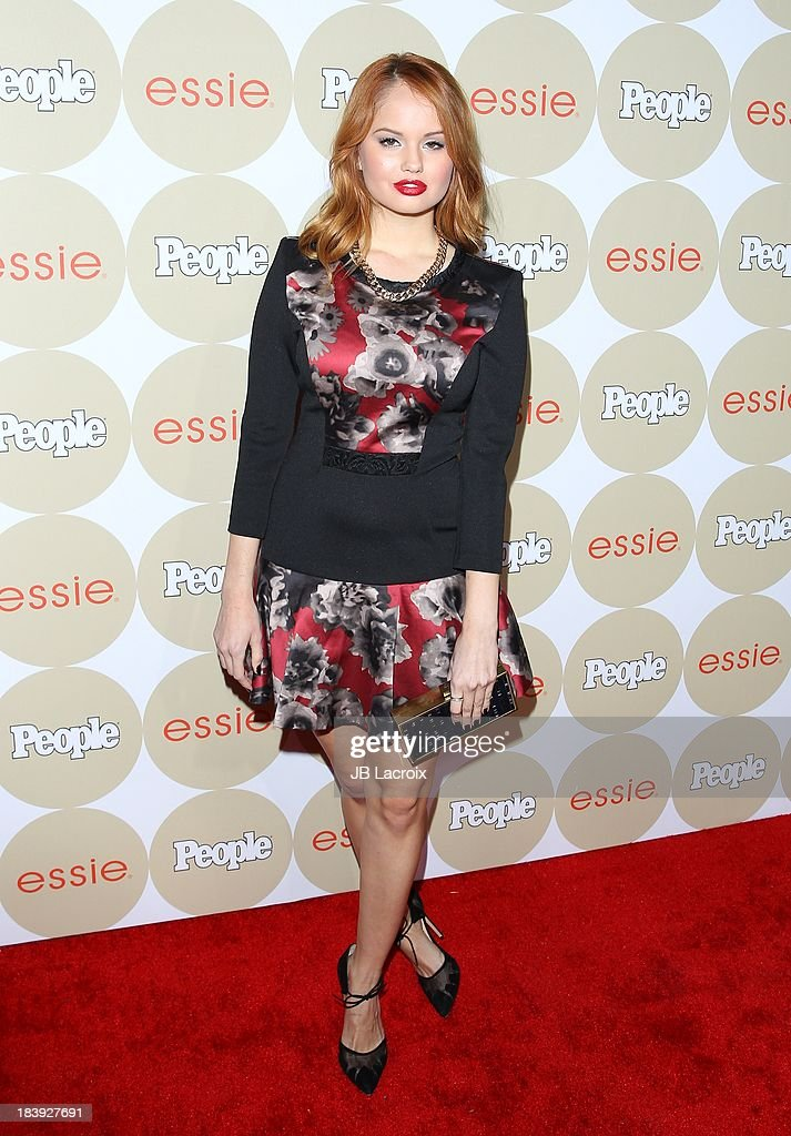 Debby Ryan attends the People's One To Watch Event held at Hinoki & The Bird on October 9, 2013 in Los Angeles, California.
