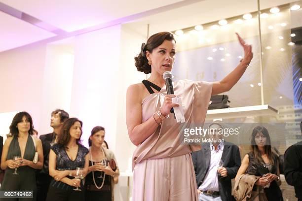 Debi Mazar attends Debi Mazar and Adrian Grenier Host Salvatore Ferragamos Benefit for LAUILA EARTHQUAKE Victims at Salvatore Ferragamo on June 2...