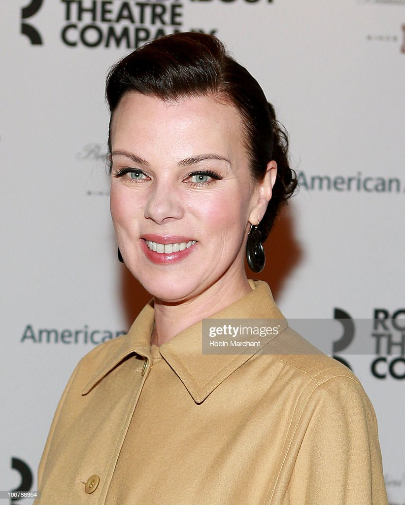 Debi Mazar attends 'The Big Knife' Broadway opening night at American Airlines Theatre on April 16, 2013 in New York City.