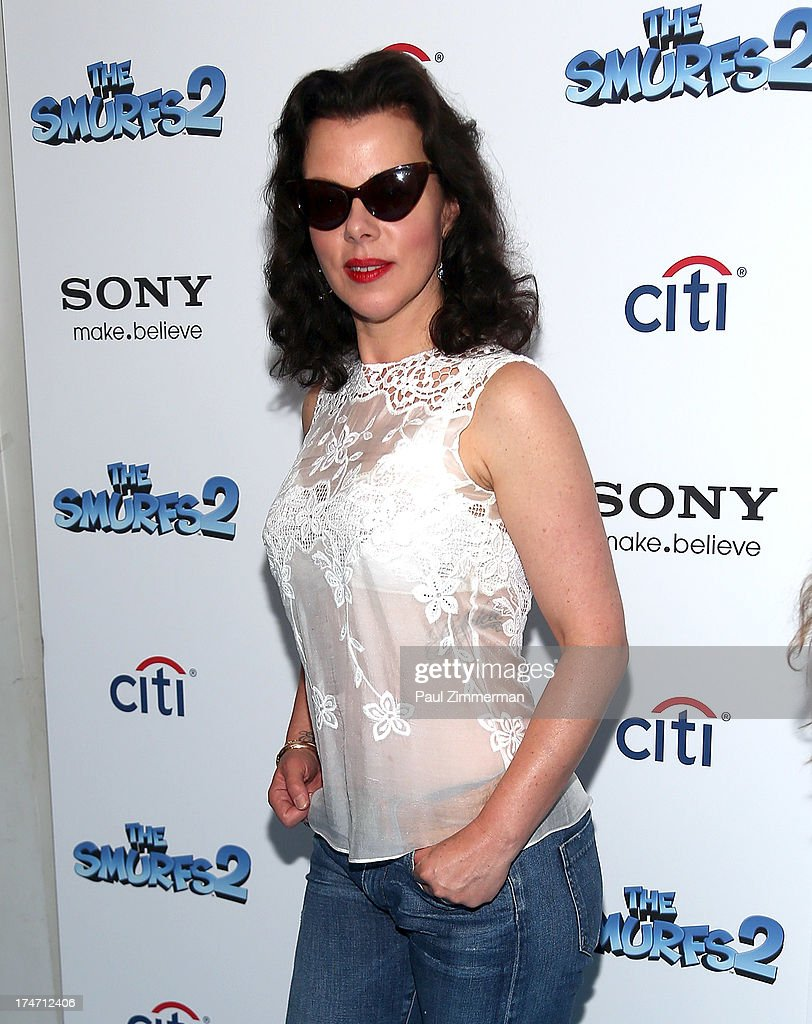 Debi Mazar attends 'The Smurfs 2' New York Blue Carpet Screening at Lighthouse International Theater on July 28, 2013 in New York City.