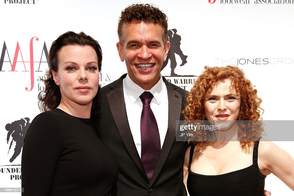 <a gi-track='captionPersonalityLinkClicked' href=/galleries/search?phrase=Debi+Mazar&family=editorial&specificpeople=212937 ng-click='$event.stopPropagation()'>Debi Mazar</a>, <a gi-track='captionPersonalityLinkClicked' href=/galleries/search?phrase=Brian+Stokes+Mitchell&family=editorial&specificpeople=213301 ng-click='$event.stopPropagation()'>Brian Stokes Mitchell</a> and <a gi-track='captionPersonalityLinkClicked' href=/galleries/search?phrase=Bernadette+Peters&family=editorial&specificpeople=203332 ng-click='$event.stopPropagation()'>Bernadette Peters</a> attend the 35th Annual American Image Awards at the Intrepid Sea-Air-Space Museum on May 16, 2013 in New York City.