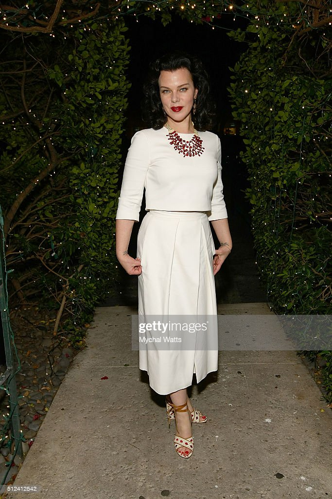 Debi Mazar during 2016 Food Network Cooking Channel South Beach Wine Food Festival Presented By FOOD WINE at Casa D' Angelo Ristorante on February 25...