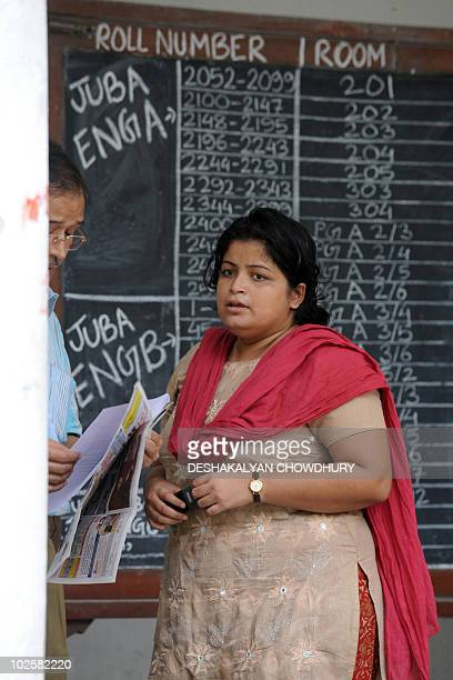 Debolina Chakraborty a former student of Jadavpur University and leader of the Matangini Mahila Samity an alleged proMaoist women's outfit talks with...