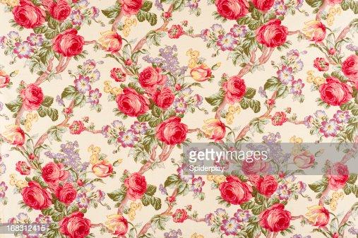 Debonair Antique Floral Fabric