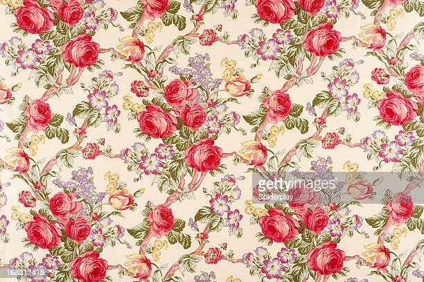 Debonair Antique Floral Fabric