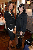 Debonaire Von Bismarck and Miranda Davis attend the launch of The 34 Kate Moss Coupe at 34 Grosvenor Square on October 8 2014 in London England