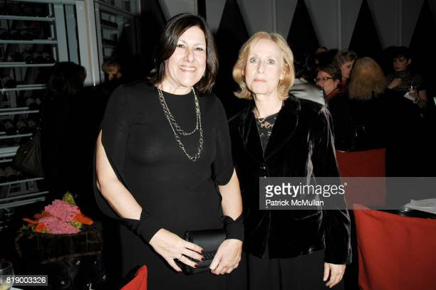 Debora Fougere and Adele Rifkin attend MOMENTUM WOMEN Honor Gila GamlielDemri hosted by Ceslie Armstrong Phyllis Heideman Cynthia Ekberg Tsai at Le...