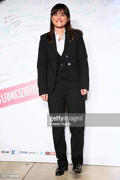 Debora Serracchiani attends 'Un Bacio' Premiere at Auditorium Parco Della Musica on March 23 2016 in Rome Italy