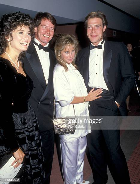 Deborah Adair Gordon Thompson Pamela Bellwood and John James at the First Annual Commitment to Life Gala Benefit AIDS Project Los Angeles Bonaventure...