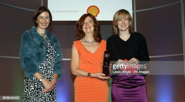 Deborah Baker Director of People at Sky wins the Women of the Future Corporate Award presented by John Cridland CBE DirectorGeneral CBI and Hannah...