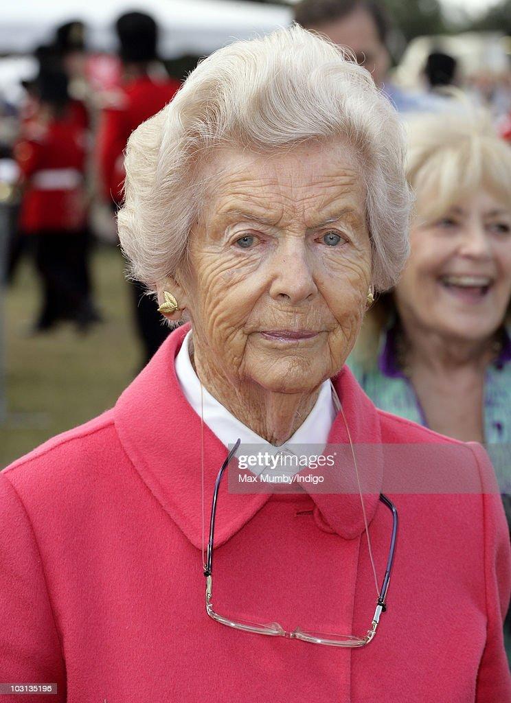 Deborah Cavendish The Dowager Duchess of Devonshire attends the Sandringham Flower Show at Sandringham on July 28 2010 in King's Lynn England