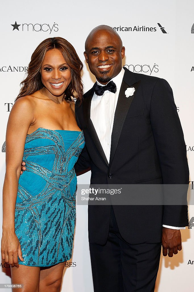 Deborah Cox and Wayne Brady attend the 8th annual Apollo Theater Spring Gala Concert at The Apollo Theater on June 10, 2013 in New York City.
