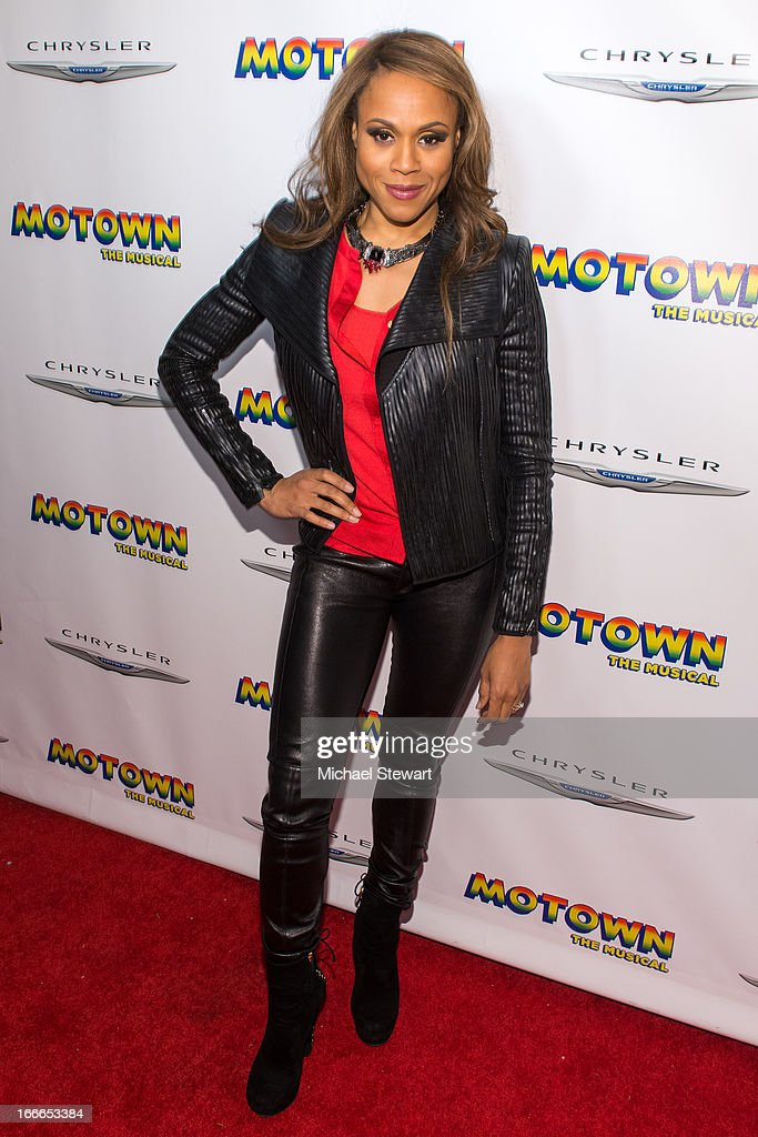 Deborah Cox attends the after party for the Broadway opening night for 'Motown: The Musical' at Roseland Ballroom on April 14, 2013 in New York City.