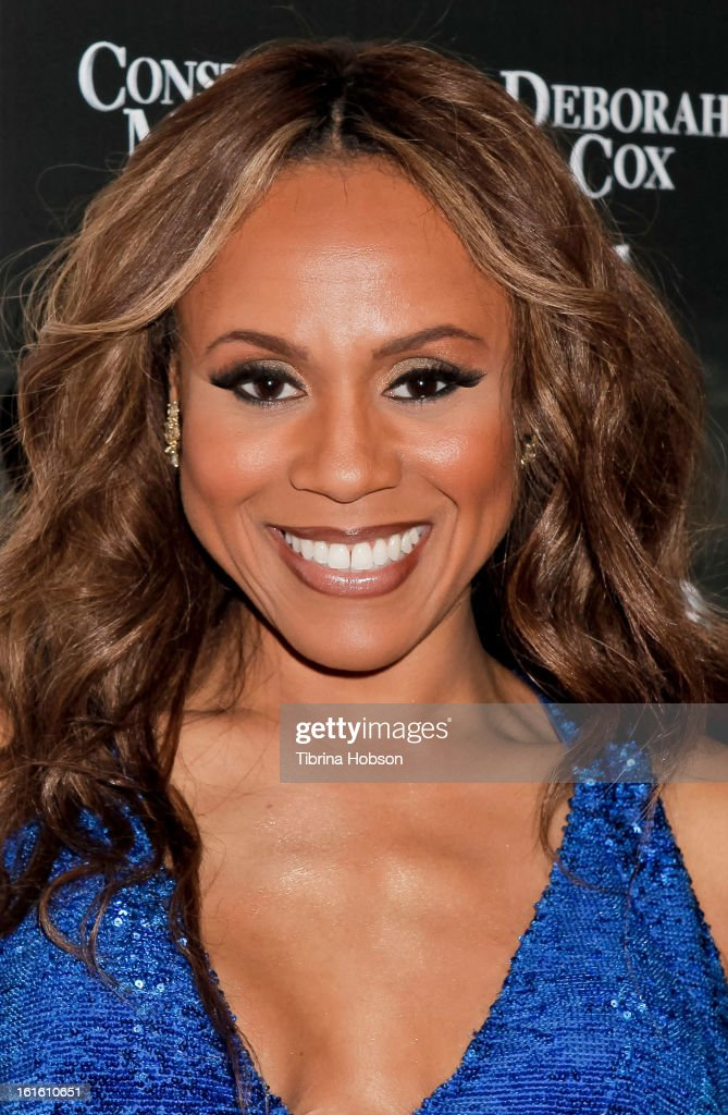 Deborah Cox attends the 'Jekyll & Hyde' Los Angeles play opening at the Pantages Theatre on February 12, 2013 in Hollywood, California.