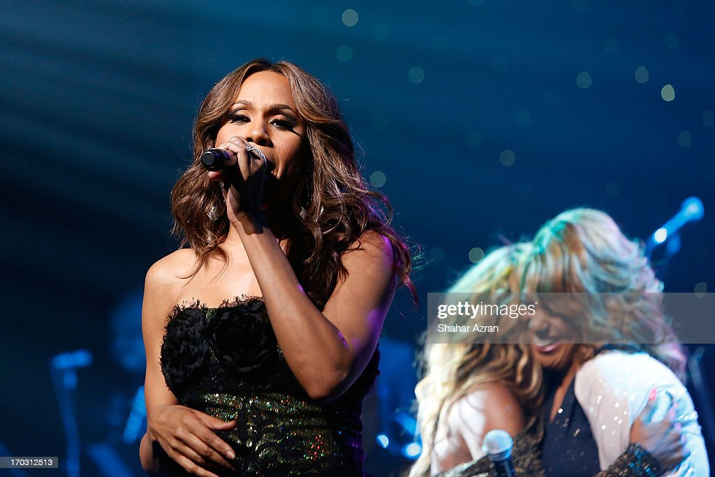 Deborah Cox performs at the 8th annual Apollo Theater Spring Gala Concert at The Apollo Theater on June 10, 2013 in New York City.