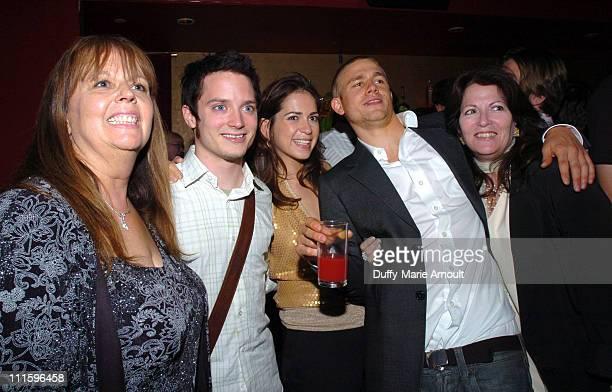 Deborah Del Prete producer Elijah Wood Lexi Alexander director Charlie Hunnam and Paula Silver