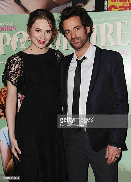 Deborah Francois and Romain Duris attend the launch event for Rendezvous with French Cinema at Curzon Soho on April 4 2013 in London England