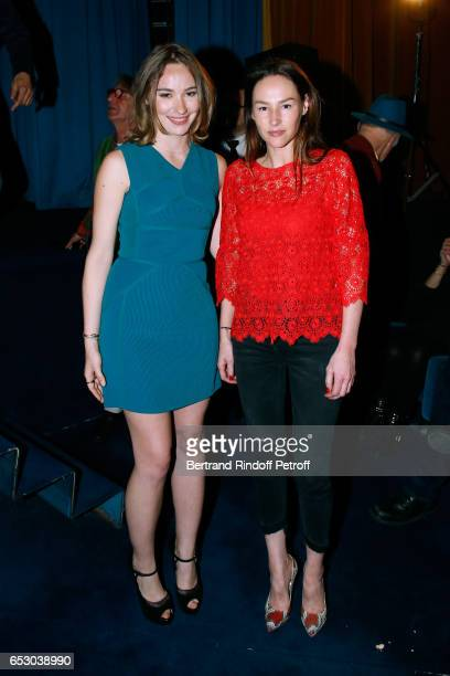 Deborah Francois and Vanessa Demouy attend the 'Chacun sa vie' Paris Premiere at Cinema UGC Normandie on March 13 2017 in Paris France