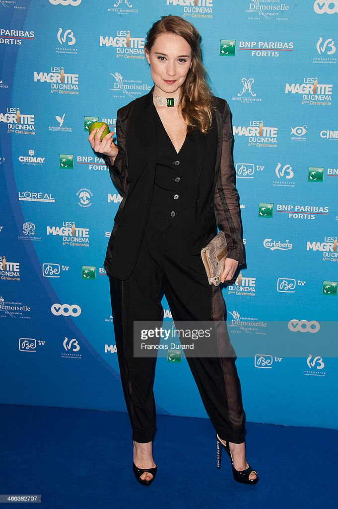 <a gi-track='captionPersonalityLinkClicked' href=/galleries/search?phrase=Deborah+Francois&family=editorial&specificpeople=239215 ng-click='$event.stopPropagation()'>Deborah Francois</a> attends 'Les Magritte Du Cinema 2014' at Square Brussels on February 1, 2014 in Brussel, Belgium.