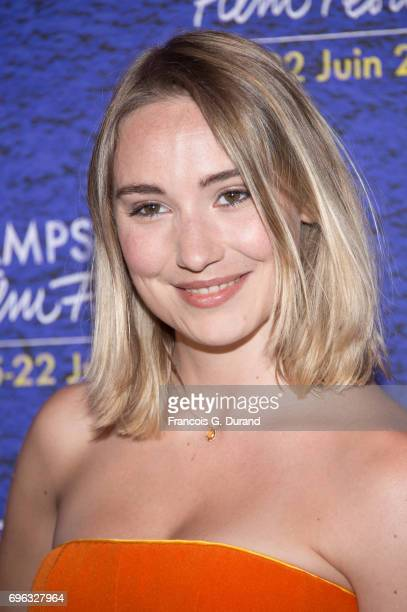 Deborah Francois attends the 6th Champs Elysees Film Festival Opening Ceremony in Paris on June 15 2017 in Paris France