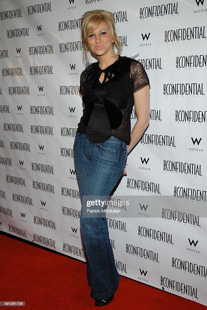 Deborah Gibson attends Los Angeles Confidential Magazine PreOscar Bash celebrates Cover Boy Jamie Foxx sponsored by Godiva at the W Hotel Los...