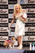Deborah Gibson during Febreze Presents Animal Fair Magazine's 7th Annual 'Paws For Style' Celebrity Pet Fashion Show Benefiting Animal Medical Center...