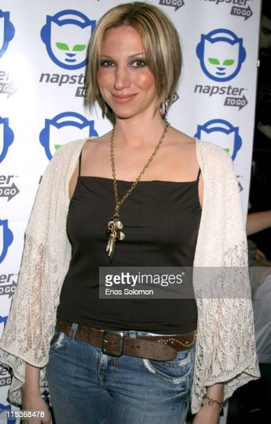 Deborah Gibson during Napster To Go Cafe Comes to Los Angeles with Free Digital Music and MP3 Player Giveaways at Mel's DriveIn in West Hollywood...