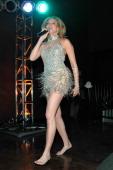 Deborah Gibson during Polly Esther's Las Vegas Opening at Stratosphere in Las Vegas Nevada United States