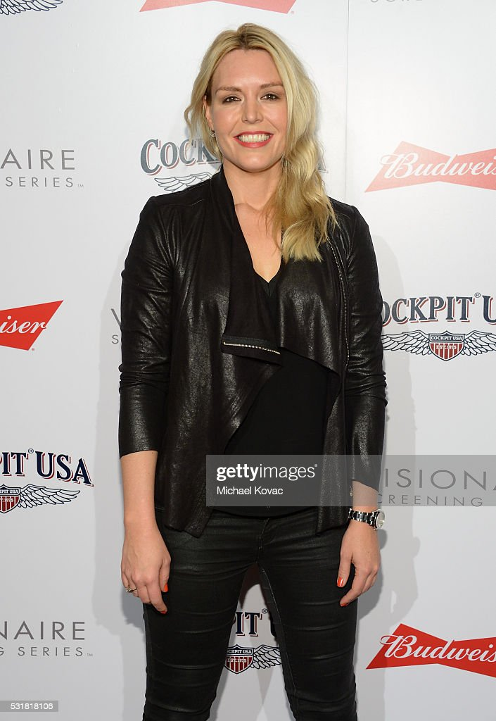 Deborah Harpur attends Cockpit USA & Budweiser Private 30th Anniversary Screening Of 'Top Gun' at The London Hotel on May 16, 2016 in West Hollywood, California.