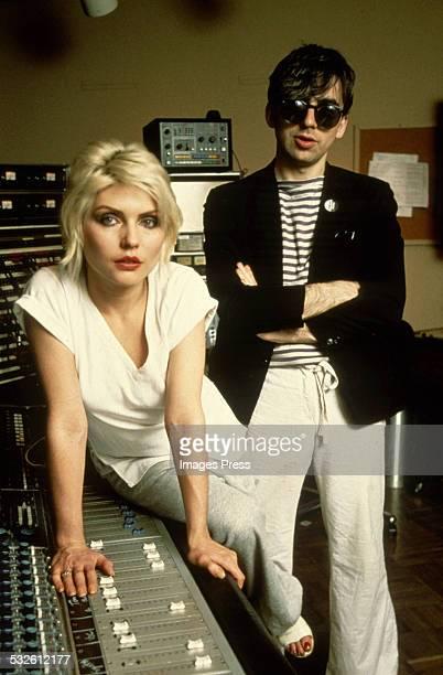 Deborah Harry and Chris Stein of Blondie circa 1978 in New York City