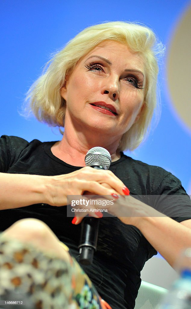 Deborah Harry attends the Grey Seminar as part of Cannes Lions 59th International Festival of Creativity on at Palais des Festivals on June 22, 2012 in Cannes, France.