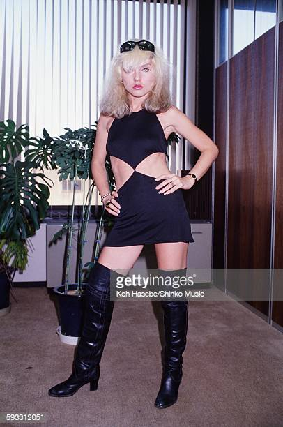 Deborah Harry Blondie visiting Shinko Music Tokyo January 1978