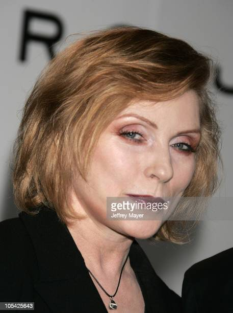 Deborah Harry during Marc Jacobs Comes to Los Angeles at Marc Jacobs Store in Los Angeles California United States
