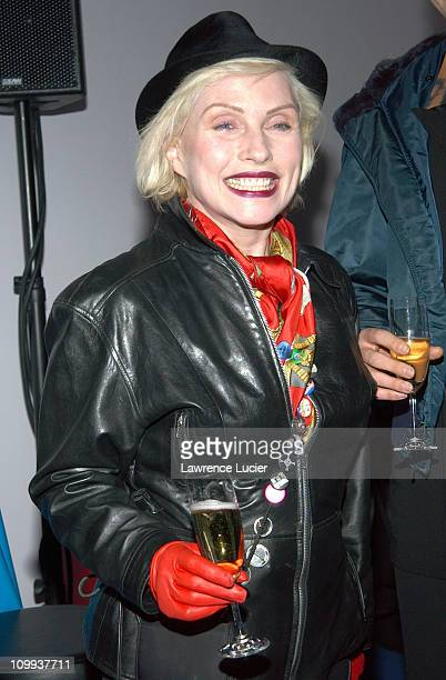 Deborah Harry during Mark Morris Dance Group 2003 Gala at Mark Morris Dance Center in New York New York United States