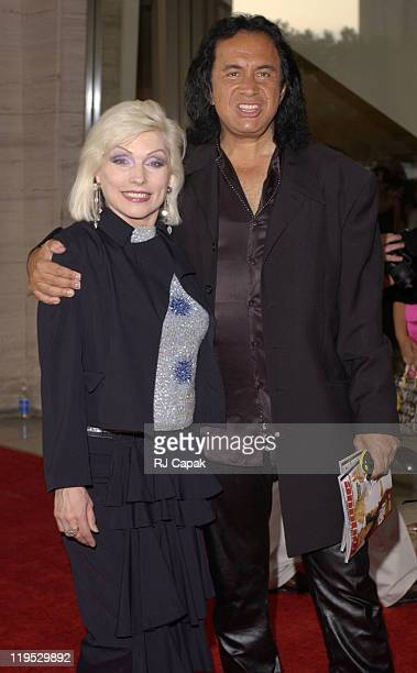 Deborah Harry Gene Simmons during The Fragrance Foundation Celebrates 30 Years of FIFI Awards at Avery Fisher Hall at Lincoln Center in New York City...