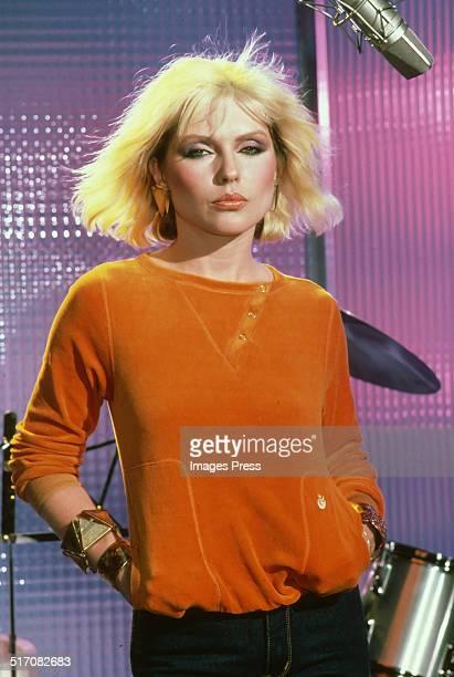 Deborah Harry of Blondie circa 1980 in New York City