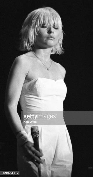 Deborah Harry of Blondie performs at Park West Chicago Illinois July 25 1979