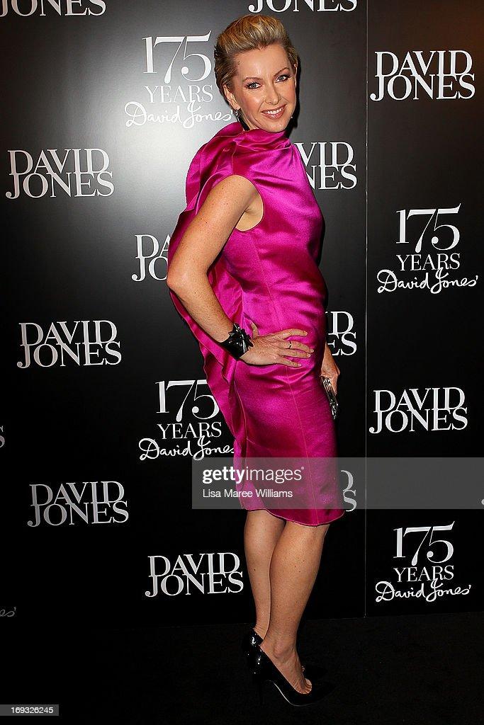 Deborah Knight attends the David Jones 175 year celebration at David Jones on May 23, 2013 in Sydney, Australia.