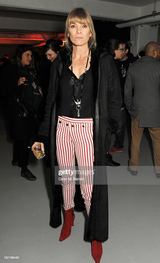 Deborah Leng attends the launch of artist Dinos Chapman's first album 'Luftbobler' at The Vinyl Factory on February 27, 2013 in London, England.