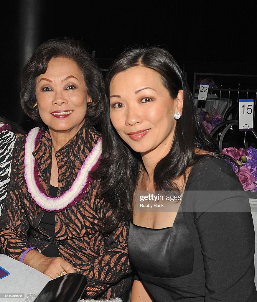 <a gi-track='captionPersonalityLinkClicked' href=/galleries/search?phrase=Deborah+Lin&family=editorial&specificpeople=4214066 ng-click='$event.stopPropagation()'>Deborah Lin</a> and her motheri attends the Wounded Warrior Project Carry Foward Awards Arrivals at Club Nokia on October 10, 2013 in Los Angeles, California.