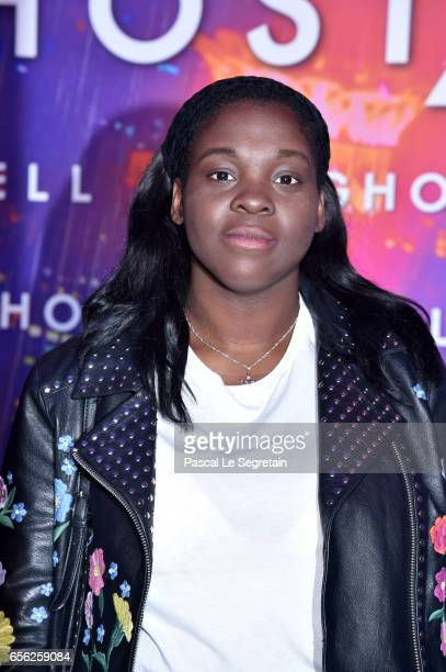 Deborah Lukumuena attends the Paris Premiere of the Paramount Pictures release 'Ghost In The Shell' at Le Grand Rex on March 21 2017 in Paris France