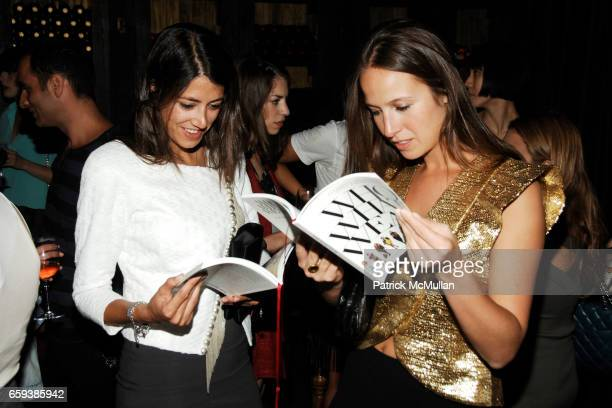 Deborah Lyons and Misha Nonoo attend Maybelline New York Color Sensational Presents 'Who What Wear' Book Launch at Gemma on September 13 2009 in New...