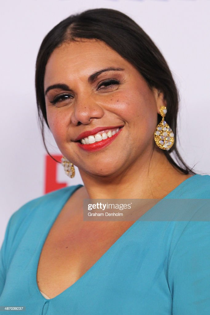 <a gi-track='captionPersonalityLinkClicked' href=/galleries/search?phrase=Deborah+Mailman&family=editorial&specificpeople=214024 ng-click='$event.stopPropagation()'>Deborah Mailman</a> arrives at the 2014 Logie Awards at Crown Palladium on April 27, 2014 in Melbourne, Australia.
